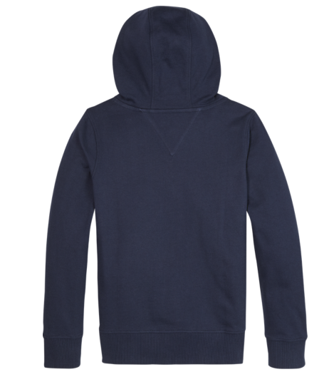 Tommy Hilfiger Boys Twilight Navy Logo Hoodie