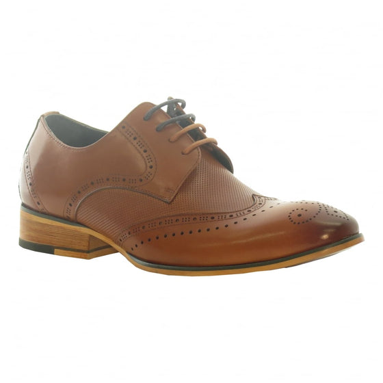 Tommy Bowe Boys Tan Brogues