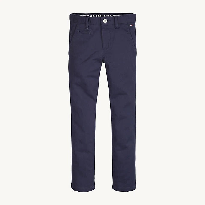 Tommy Hilfiger Boys Navy Chinos
