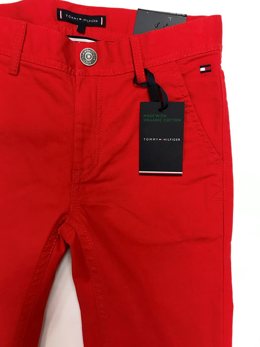 Tommy Hilfiger Boys Red Trousers