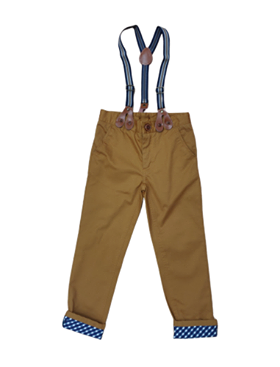 Little Lord Trousers With Braces