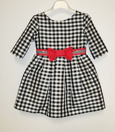Amaya Monochrome Girls Dress