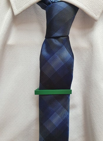 Boys Green Tie Pin