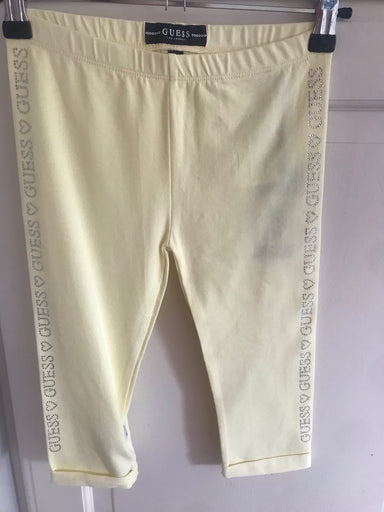 Guess lemon diamanté 3/4 leggings