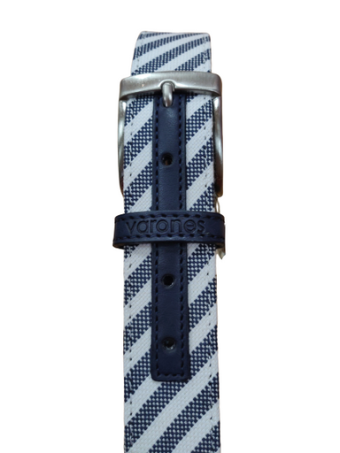 One Varones Boys Striped Belt