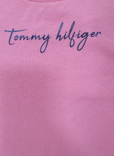 Tommy Hilfiger Girls long-sleeved Sequins Graphic T-shirt