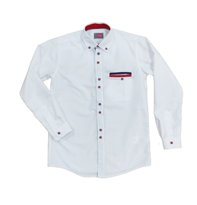One Varones White Shirt