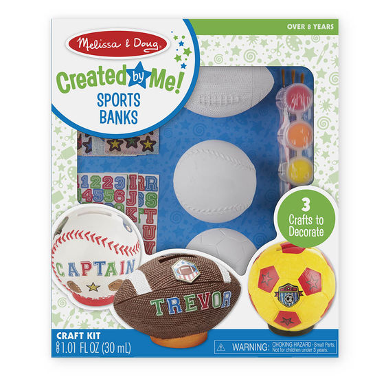 Sports Banks Craft Kit