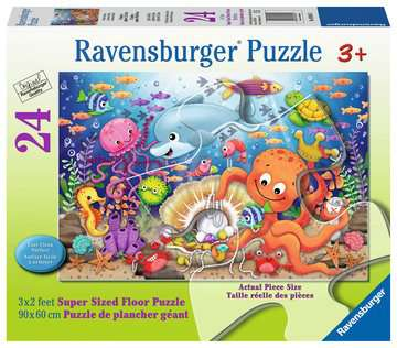 Fishie's Fortune 24 pcs - Floor Puzzle