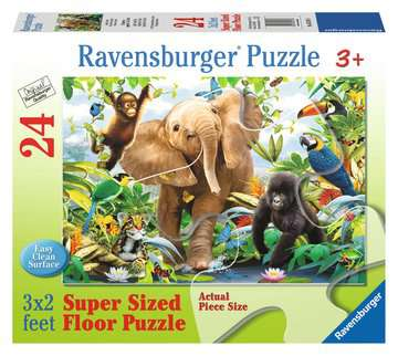 Jungle Juniors 24 pcs - Floor Puzzle