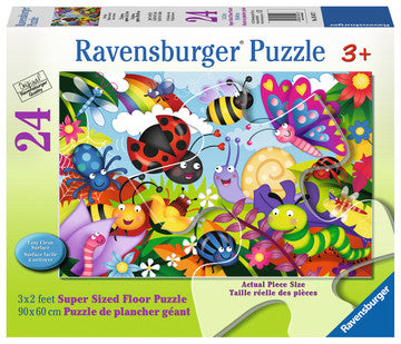 Cute Bugs 24 pcs - Floor Puzzle
