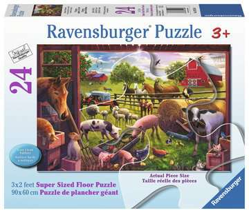 Animals of Bells Farm 24 pcs - Floor Puzzle