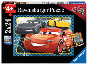 Cars 3: I Can Win!- 2 x 24pcs puzzle