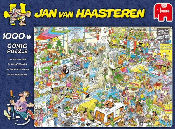 Jan van Haasteren - 1000 pcs - The Holiday Fair