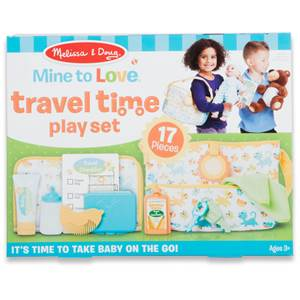 Mine to Love Travel Time Play Set for Dolls