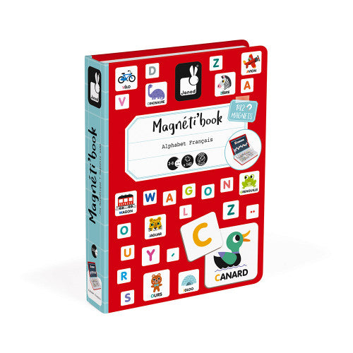 French Alphabet Magneti'Book