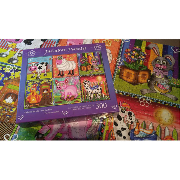 THE FUN FARM 300 XXL pieces jigsaw puzzle