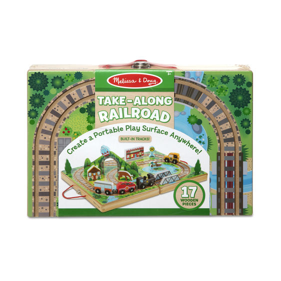 Take-Along Tabletop-Railroad