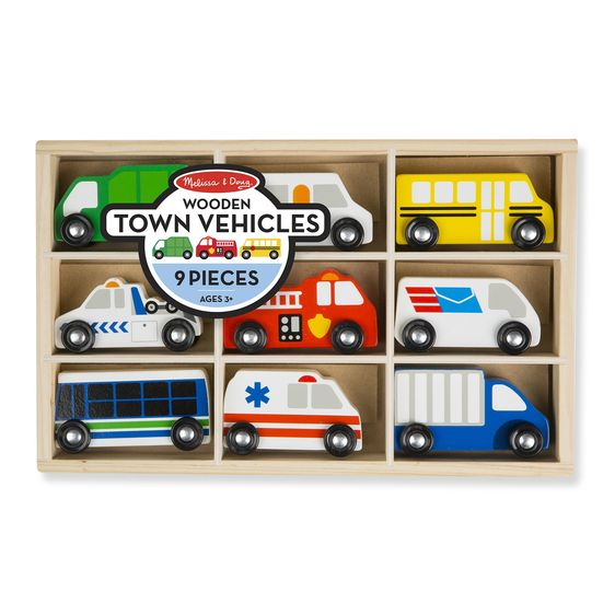 Wooden Town Vehicules