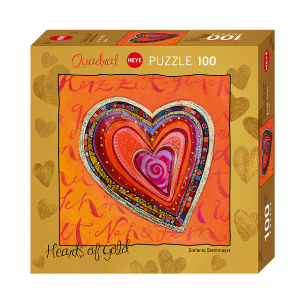 Heart of Gold collection - 100 pcs Puzzle