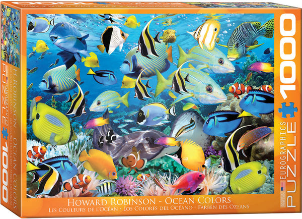 Ocean Colors 1000-Piece Puzzle