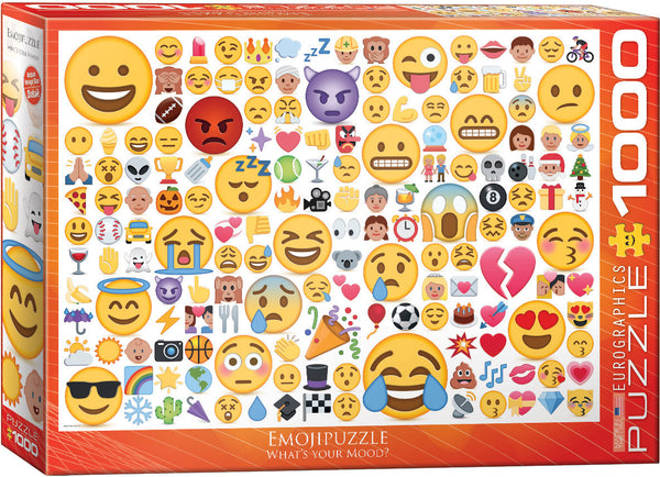 EmojiPuzzle What's your Mood? 1000-Piece Puzzle