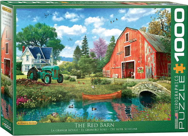 The Red Barn 1000-Piece Puzzle