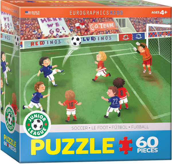 Junior League Soccer 60-Piece Puzzle