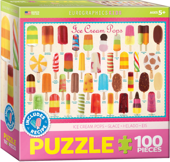 Ice Cream Pops 100-Piece Puzzle