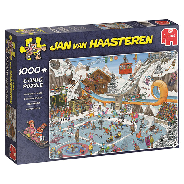 Jan van Haasteren - 1000 pcs -  Winter Games