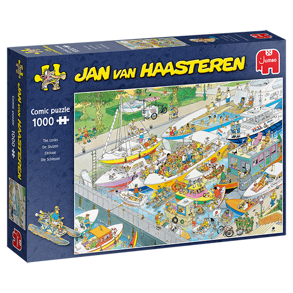 Jan van Haasteren - 1000 pcs -  The Locks