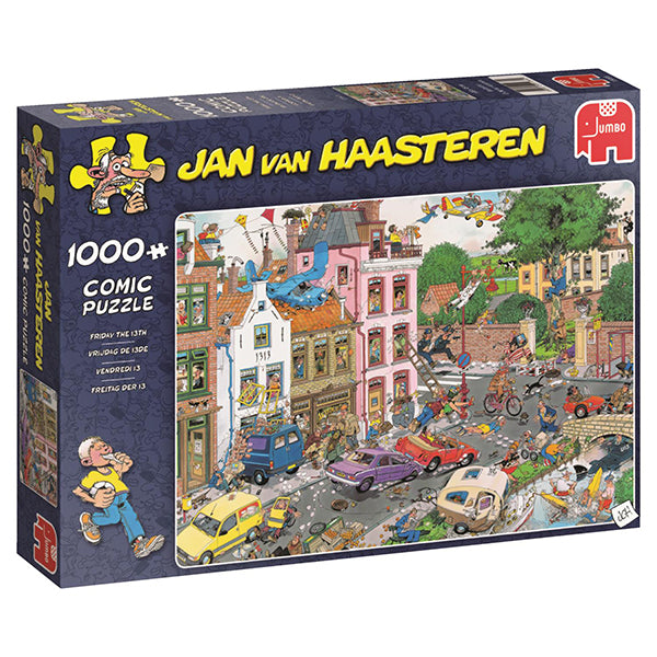 Jan van Haasteren - 1000 pcs - Friday the 13th