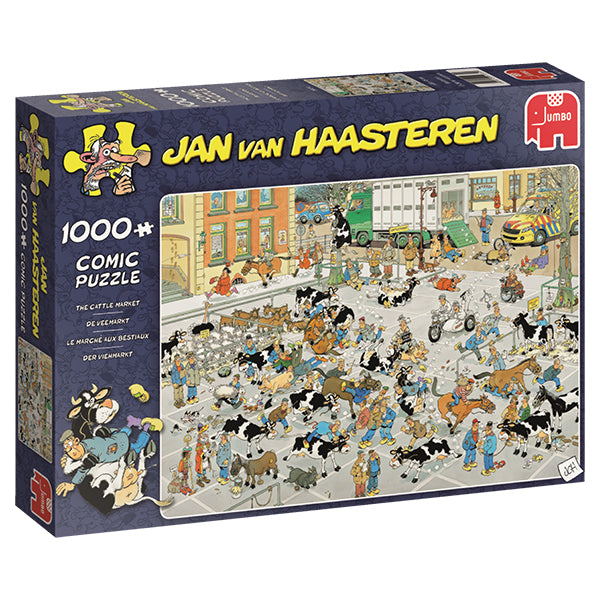 Jan van Haasteren - 1000 pcs - The Cattle Market