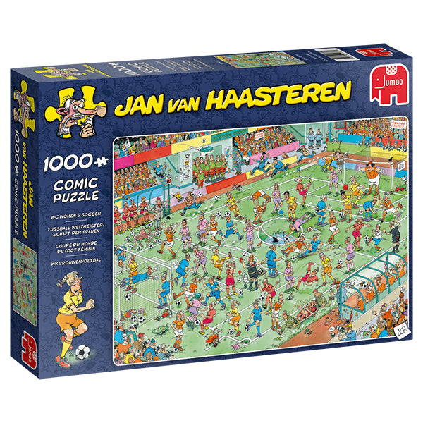Jan van Haasteren - 1000 pcs - WC Women's Soccer