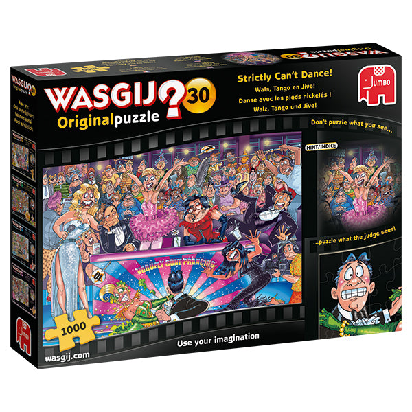 WASGIJ ORIGINAL #30, STRICTLY CAN'T DANCE! - 1000pcs