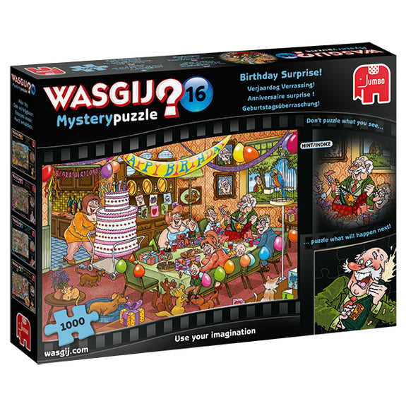 WASGIJ MYSTERY #16, BIRTHDAY SURPRISE ! - 1000pcs