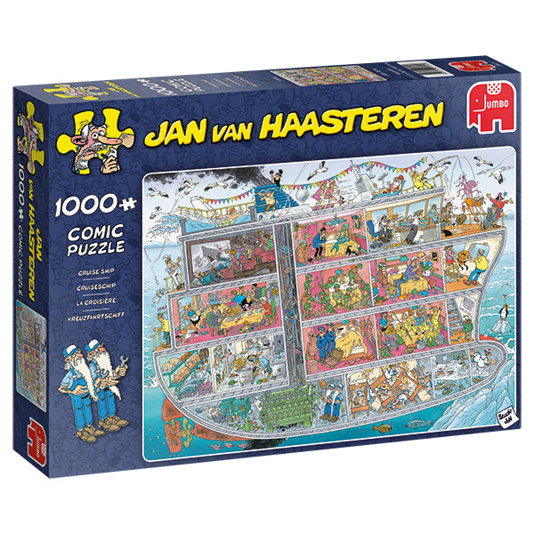 Jan van Haasteren - 1000 pcs - Cruise Ship