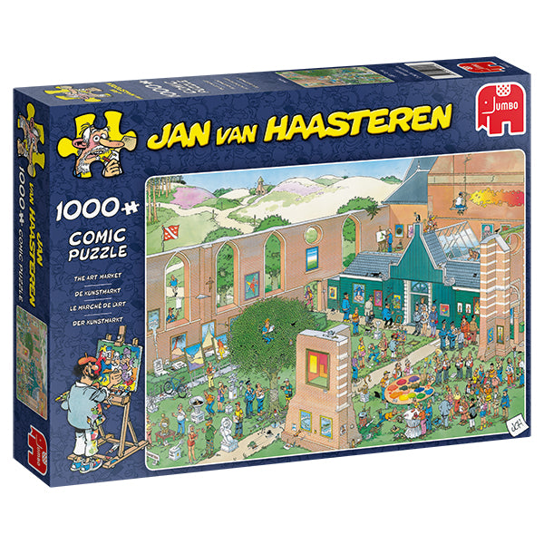 Jan van Haasteren - 1000 pcs - The Art Market