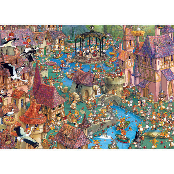 Bunnytown -  1000pcs