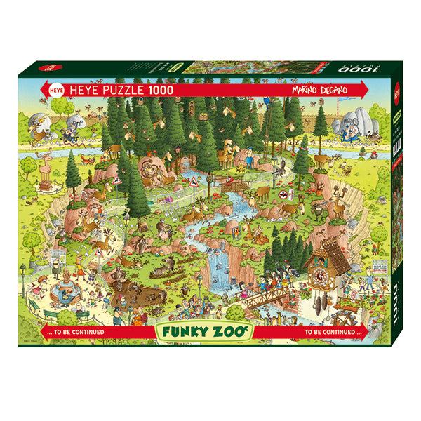 Funky Zoo - Black Forest Habitat -  1000pcs