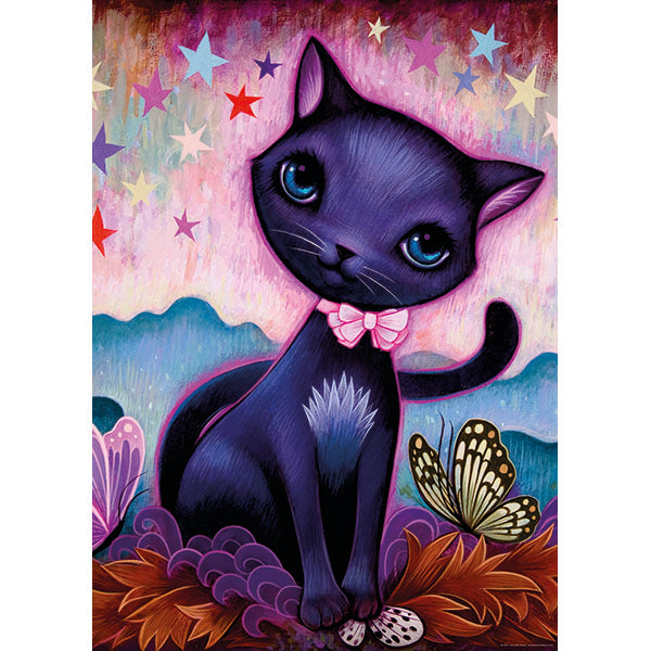 Black Kitty, Dreaming - 1000pcs