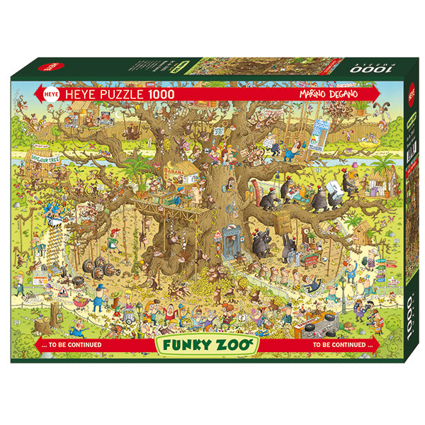 Funky Zoo - Monkey Habitat - 1000pcs