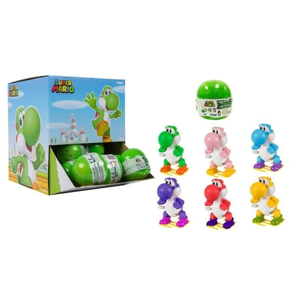 Super Mario Yoshi Mystery Mini Wind-Up Figure