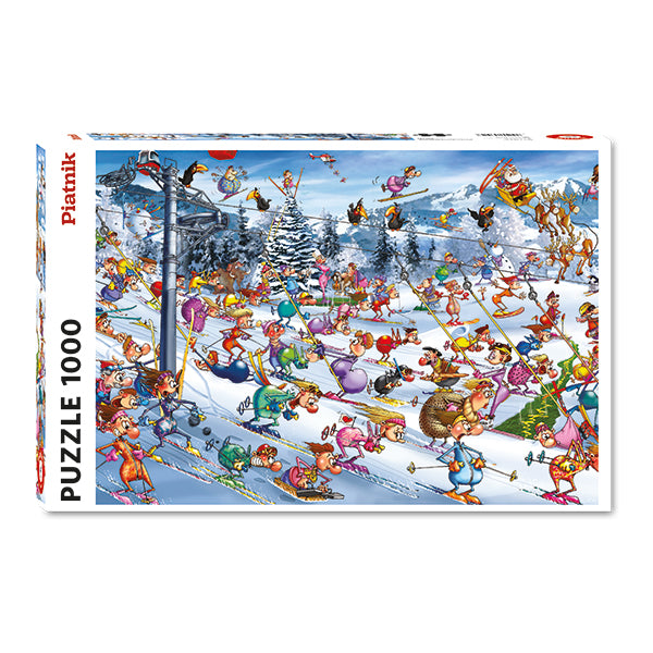 Christmas Skiing -  1000pcs