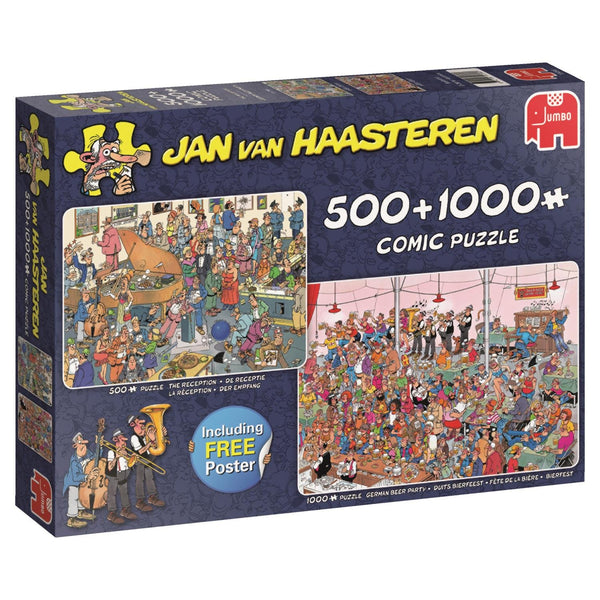 JVH - Let's Party  2in1 - 500 & 1000pcs