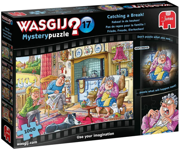 WASGIJ MYSTERY #17, Catching a Break - 1000pcs