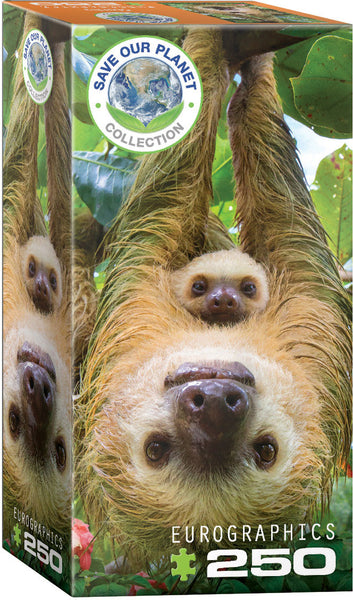 Save Our Planet Puzzles - Sloths - 250pcs