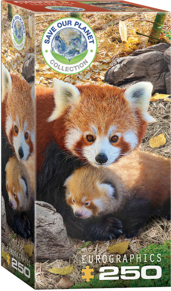 Save Our Planet Puzzles - Red Pandas - 250pcs
