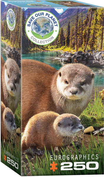 Save Our Planet Puzzles - Otters - 250pcs