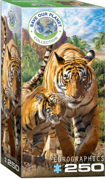 Save Our Planet Puzzles - Tigers - 250pcs